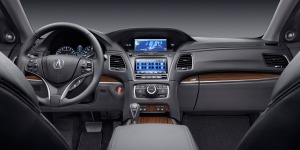 Acura offers several interior trims, but all create a luxury feel.
