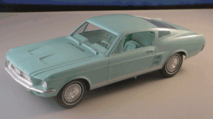 mustang collector cars, 67 ford mustang fastback, classic cars, promotional model cars, savageonwheels.com