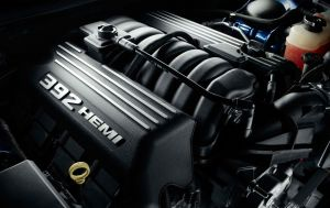 HEMI, HEMI, HEMI ... this is the 392 version and it's a mechanical monster.