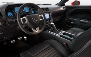 No denying this interior looks a little racy.