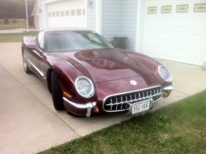 chasing classic cars, corvette, classic corvette, 50th anniversary vette, savageonwheels.com
