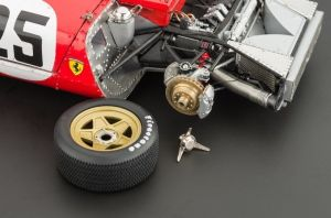 CMC delivers excellent brake detail behind removable wheels.