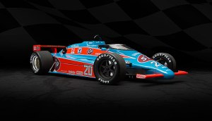 Gordon Johncock's 1984 Indy 500 racer, sponsored by STP.