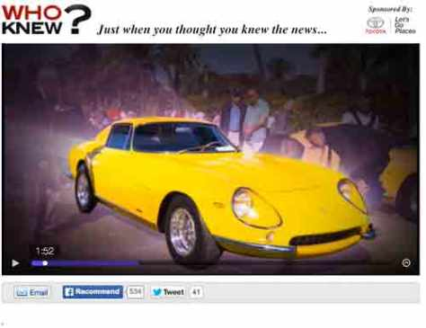 Chasing classic cars, rare vintage cars, collector cars