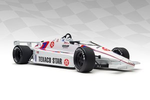 Tom Sneva's 1984 Indy 500 record setting March.