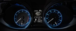 Like the blue rings behind the dash gauges. Makes them easy to see at night.