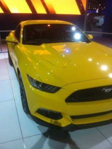 2015 ford mustang, 2015 mustang, chicago auto show, new mustang, savageonwheels.com