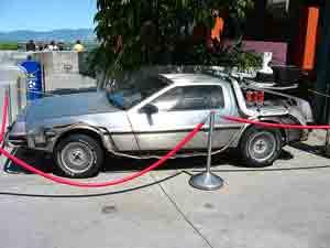 Back to the future, delorian, john delorian, chasing classic cars