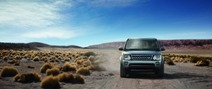 Off-roading is the LR4's forte.
