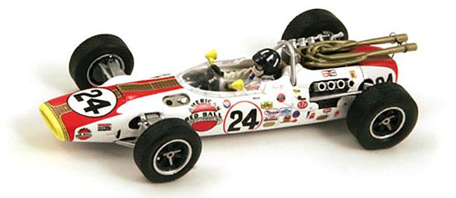 diecast spark 143 1966 indy 500 winner savage on wheels