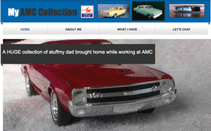 1970 amx, amx promotional model cars, amc javelin promo model, amc , american motors