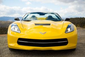 Corvette has a nose for excitement.