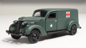 In this scale and at this price, this 1937 Studebaker ambulance is a deal.