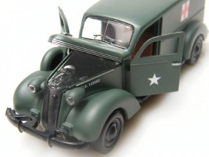 For less than $25 this model features an opening hood and doors, plus some engine detail.