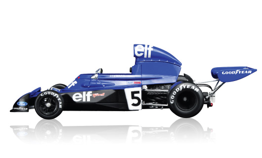 die cast tsm 1973 tyrrell 006 jackie stewart savage on wheels. Black Bedroom Furniture Sets. Home Design Ideas