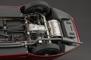 The undercarriage is just as intricate as the engine bay.