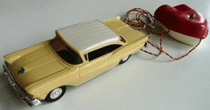 58-ford-remote-control, promo model cars, ford promo model cars