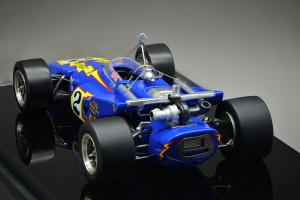 This view of the Replicarz 1970 Indy 500 winner shows great turbo detail.