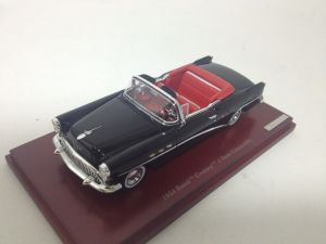 The 1:43 Buick comes with a handsome stand and acrylic cover. Love this red interior too!