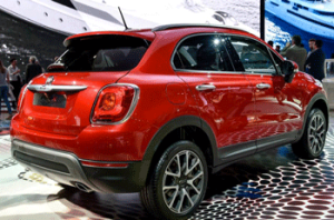 Paris auto show, new car introductions, fiat 500x, fiat