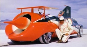 Art Arfons Green Monster, world speed records, Craig Breedlove, Bonneville Salt flats