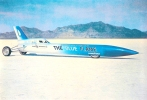 Blueflame, Art Arfons Green Monster, world speed records, Craig Breedlove, Bonneville Salt flats