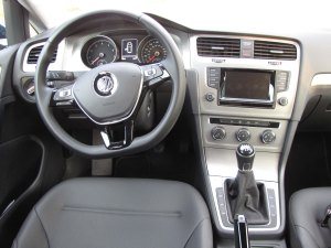 VW delivers a handsome and relatively simple interior.
