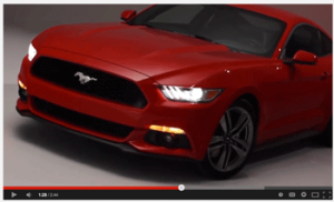 2015 Ford Mustang, 2015 mustang, chicago auto show