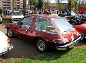 amc pacer, american motors, cab-forward design