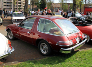 amc pacer, american motors, cab-forward design