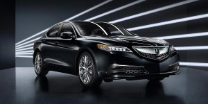 TLX three quarter