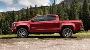 No denying the Colorado Crew Cab is a smart looking truck.
