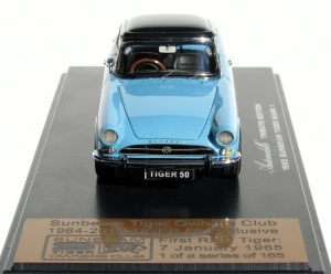 The model comes with a black top too.