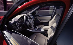 The two-tone interior looks sharp and modern, an improvement on some previous BMW models.