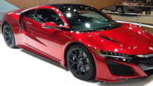 acura nsx, chicago auto show, super cars
