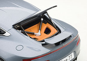 Both the rear window and small spoiler can be raised.