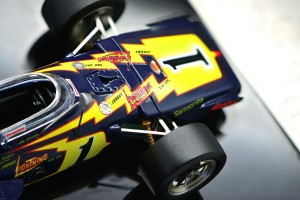 Paint and tampo printing are impressive and you gotta love the lightning bolts!