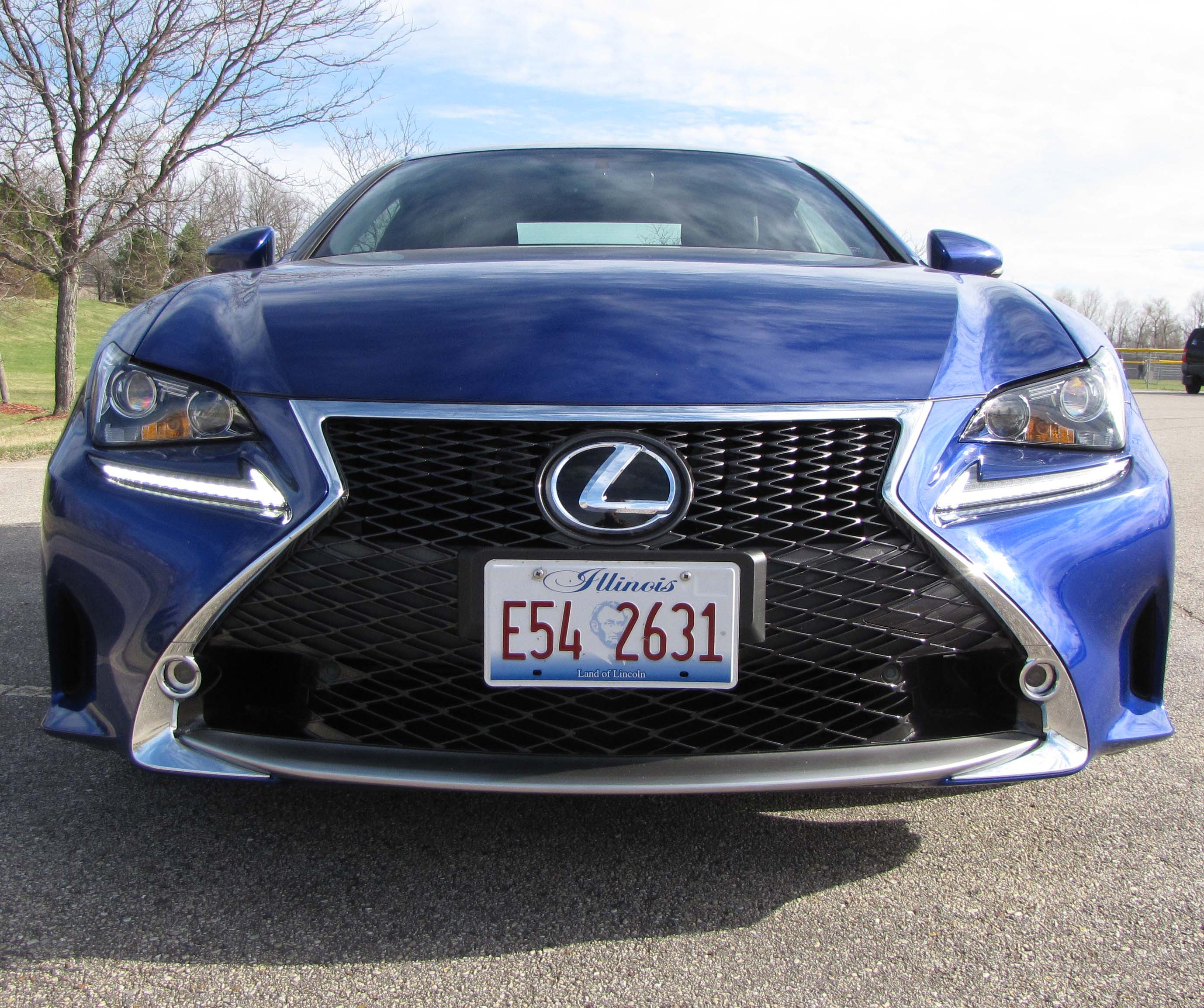 Lexus Sports Car Convertible: 2015 Lexus RC 350 F Sport