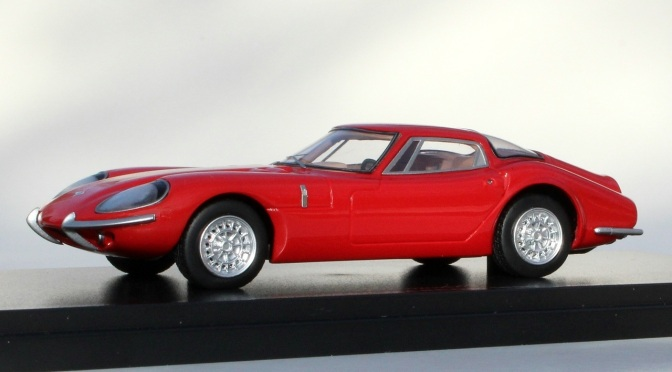 Die-cast: Automodello 1964 Marcos 1800