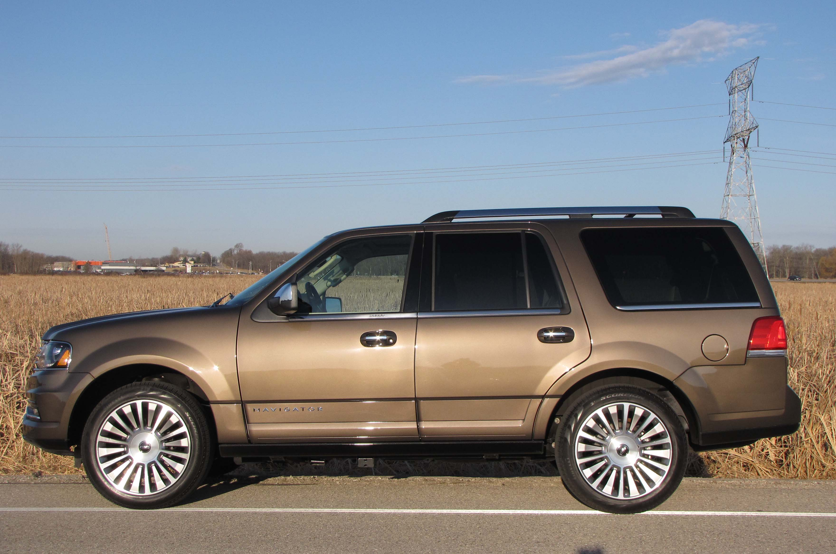Lincoln navigator a restyled expedition for a lot more nav profile