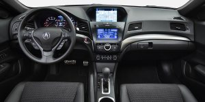 ILX features an attractive well laid out dash.