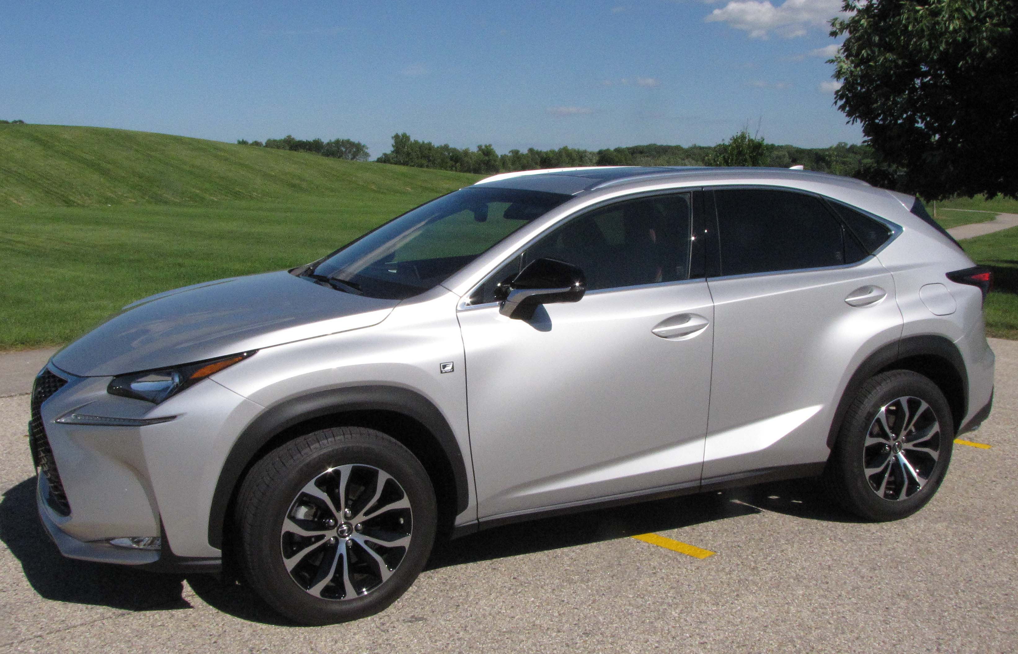 2015 lexus nx 200t f sport savage on wheels. Black Bedroom Furniture Sets. Home Design Ideas