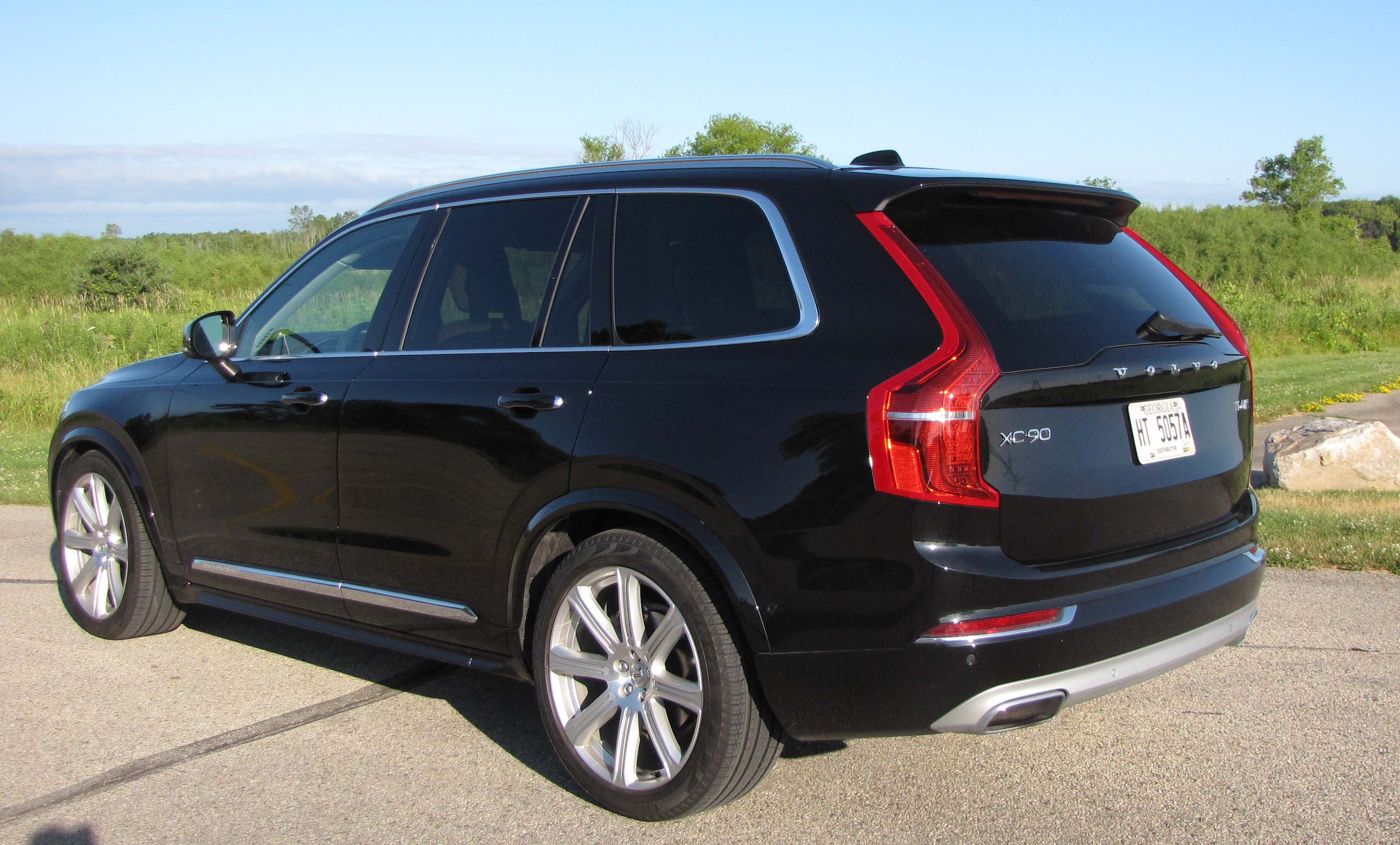 2016 volvo xc90 t6 awd inscription savage on wheels. Black Bedroom Furniture Sets. Home Design Ideas