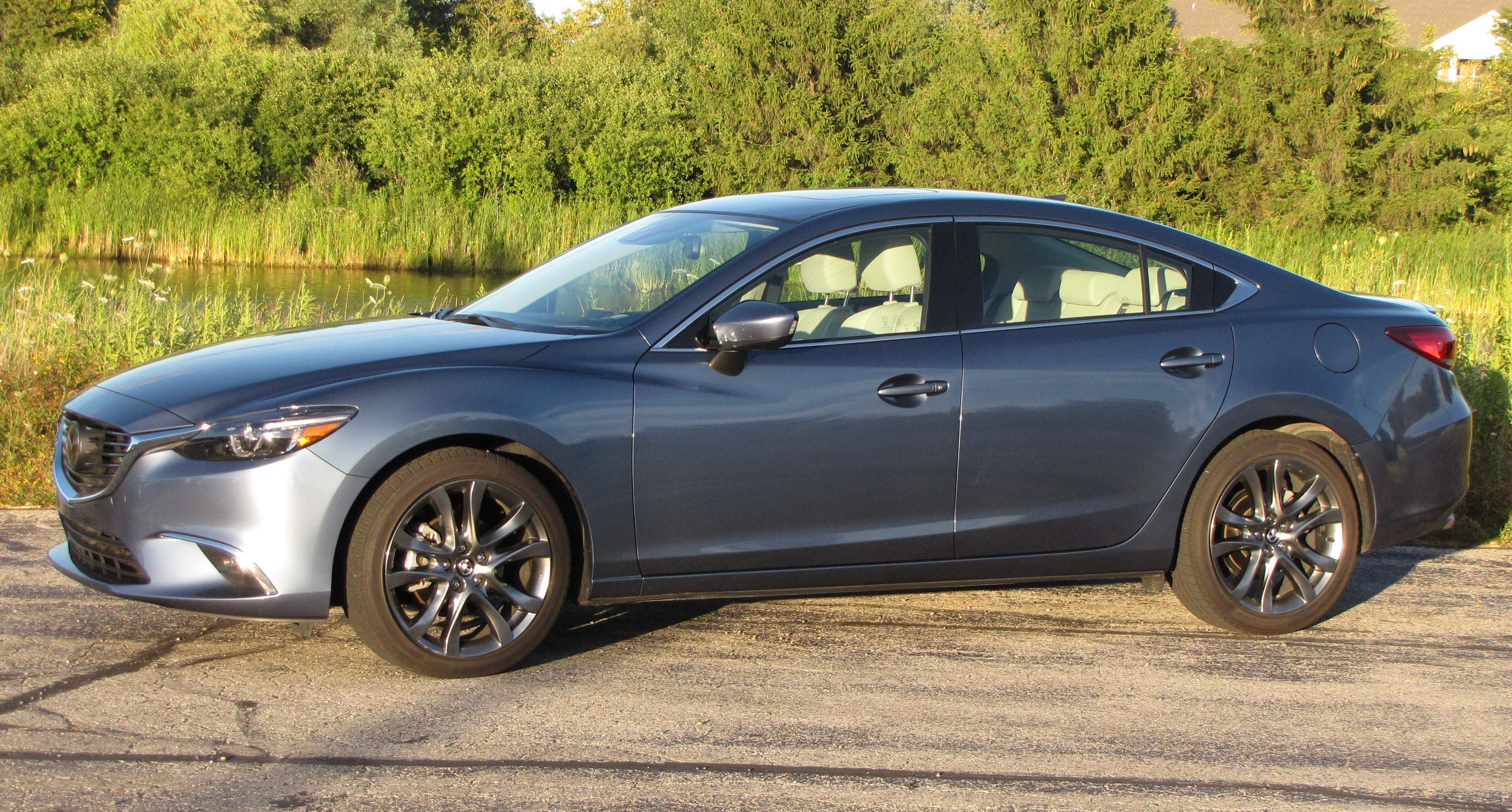 2016 mazda6 grand touring savage on wheels. Black Bedroom Furniture Sets. Home Design Ideas
