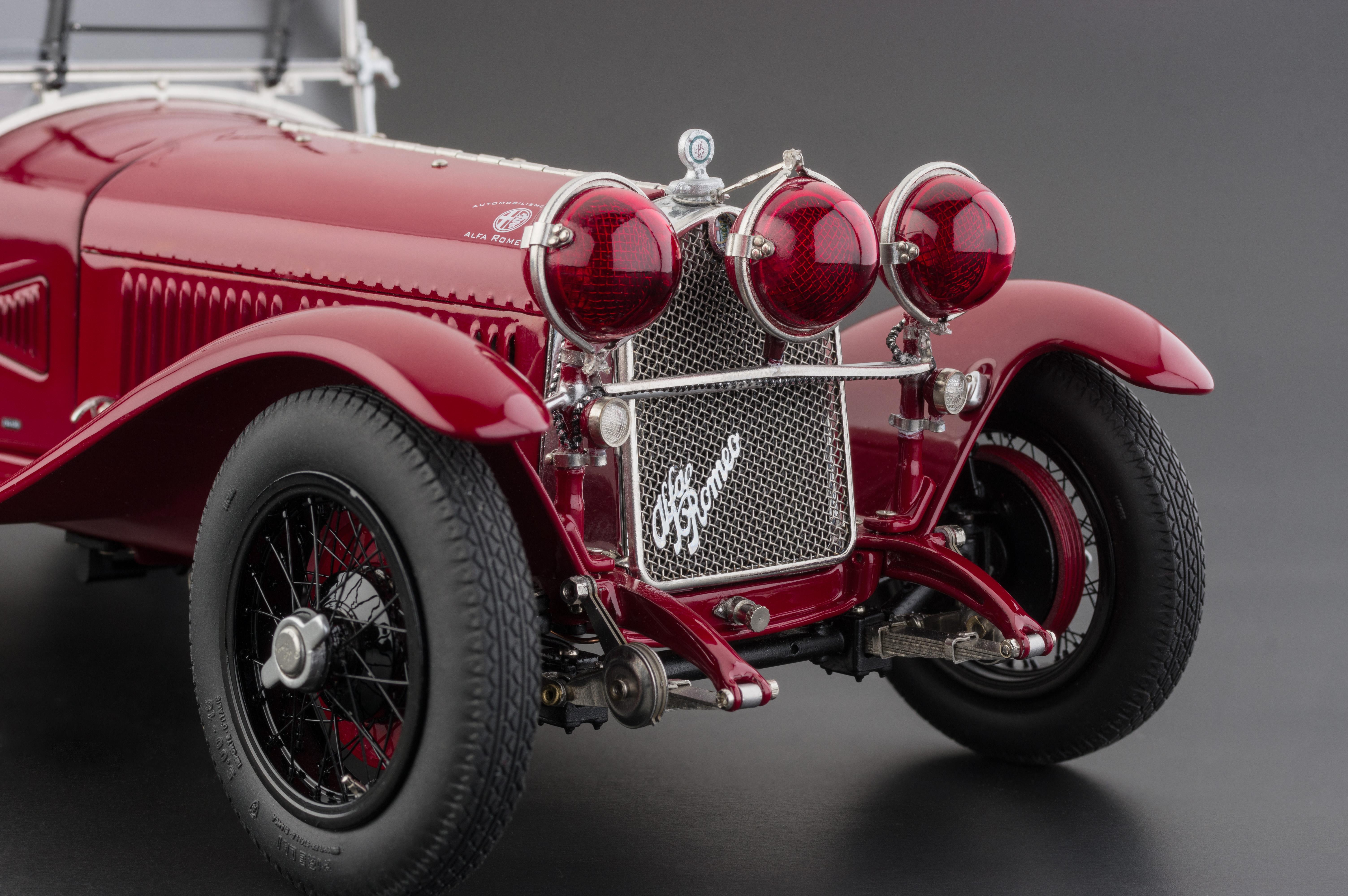 Die Cast Cmc 1930 Alfa Romeo 6c Savage On Wheels