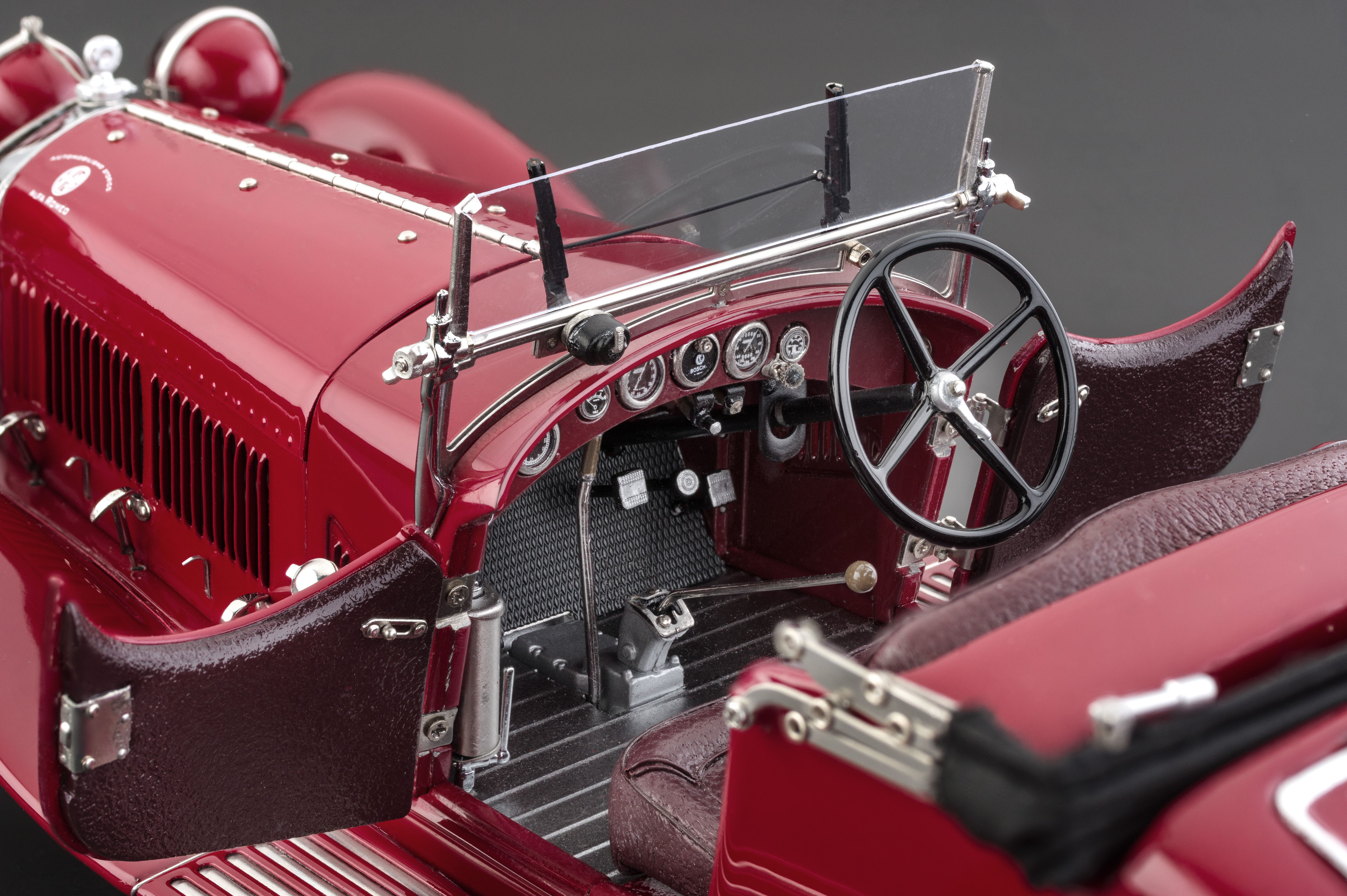 Die Cast Cmc 1930 Alfa Romeo 6c Savage On Wheels