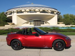 The Miata is a work of art, just like the Frank Lloyd Wright-designed Annunciation Greek Orthodox Church in Wauwatosa.