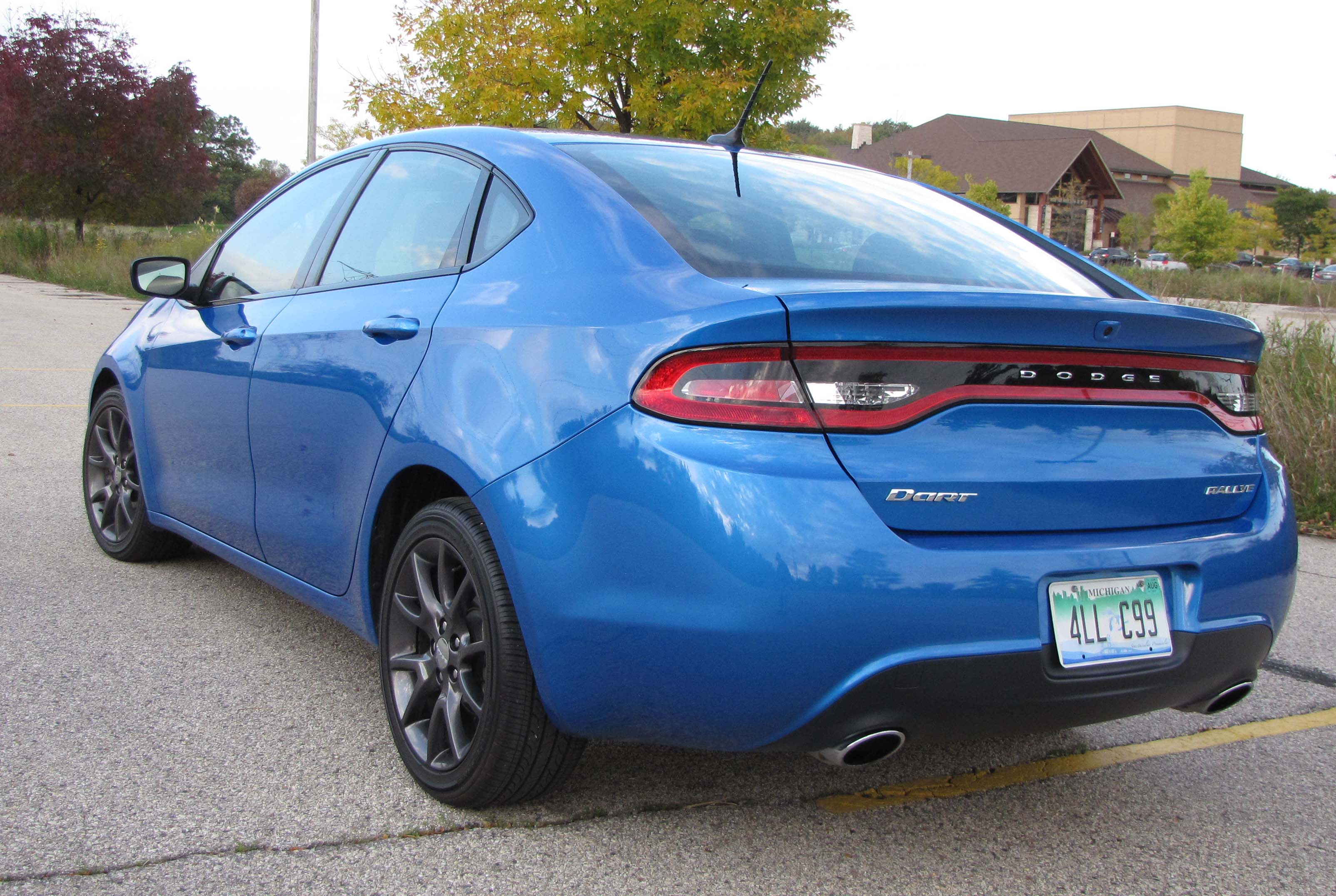 2015 dodge dart sxt rallye savage on wheels. Black Bedroom Furniture Sets. Home Design Ideas