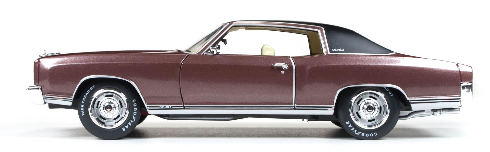 Die-cast Auto World's 1971 Chevy Monte Carlo SS 454 ...