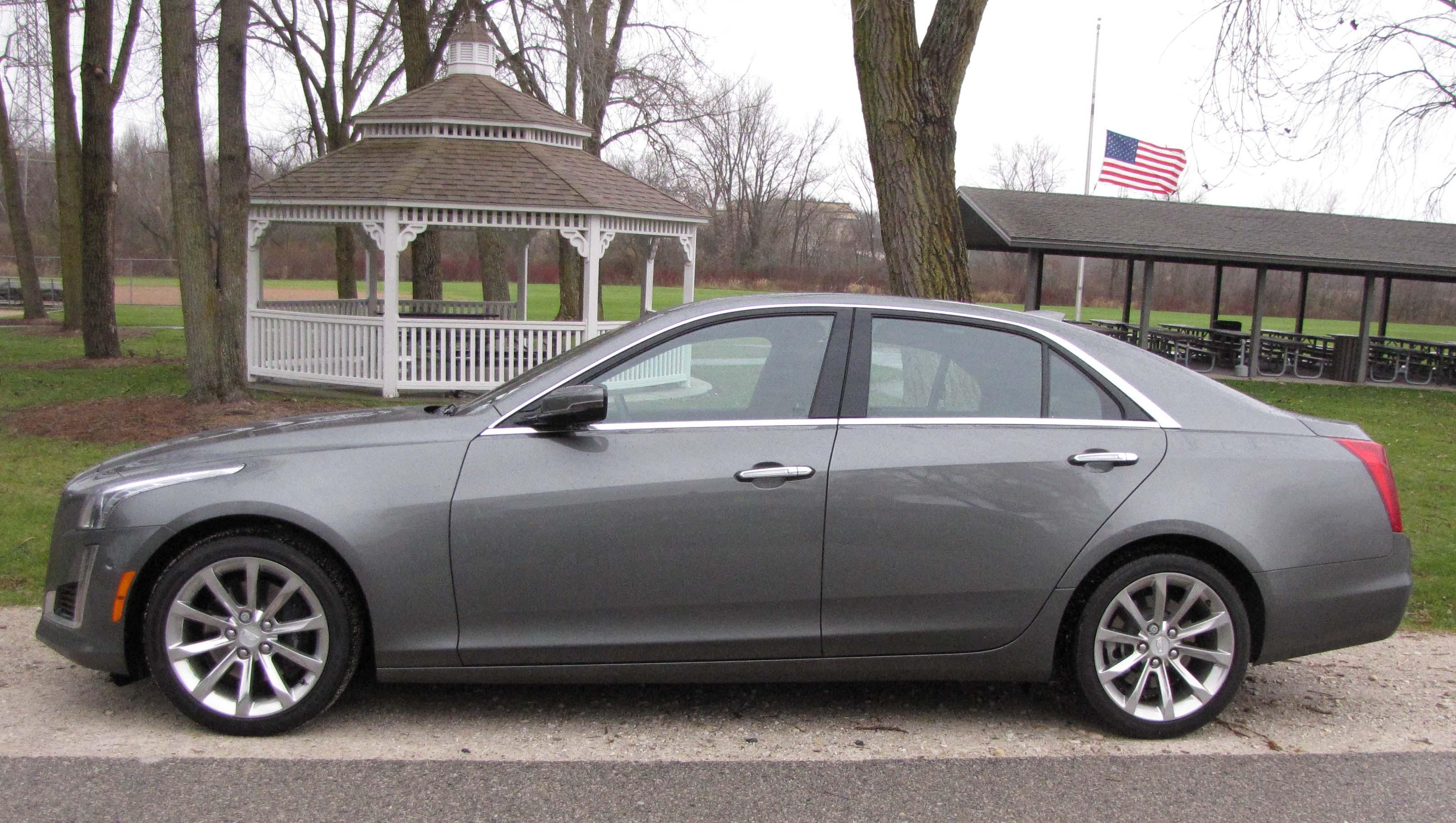 cars sedan cts top speed cadillac